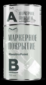 Маркерная краска MaestroPaint Белый Матовый