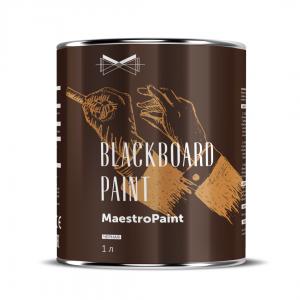 Краска для школьных досок MaestroPaint Черная