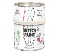 Маркерная краска SketchPaint прозрачное MATT